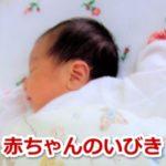 赤ちゃん いびき