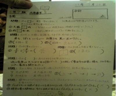 算数の文章問題
